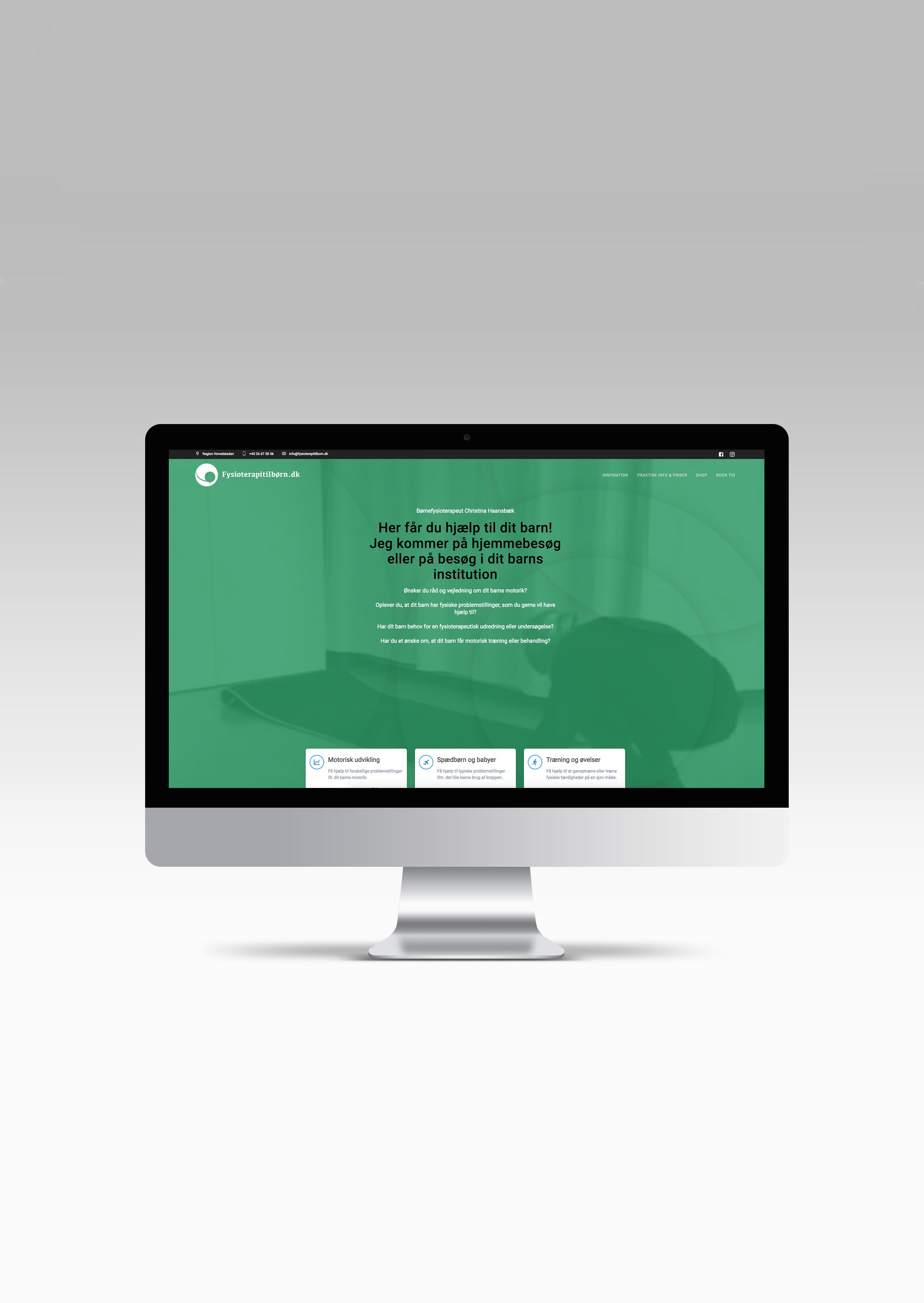 Webdesign Fysioterapitilborn.dk